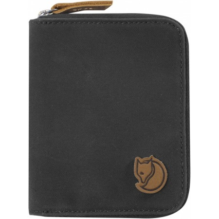 FJALLRAVEN 24216-030 ZIP WALLET DARK GREY
