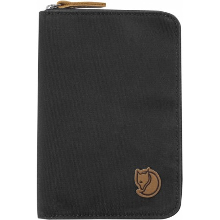 FJALLRAVEN 24220-030 PASSPORT WALLET DARK GREY