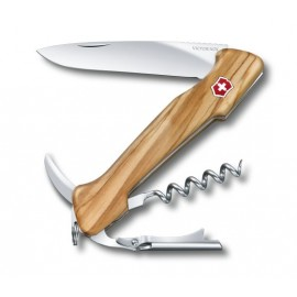 VICTORINOX NO. 0.9701.64 WINE MASTER OLIVE WOOD