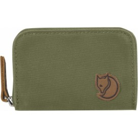 FJALLRAVEN 24218-620 ZIP CARD HOLDER GREEN