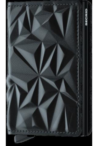 SECRID SPr-BLACK SLIMWALLET PRISM BLACK