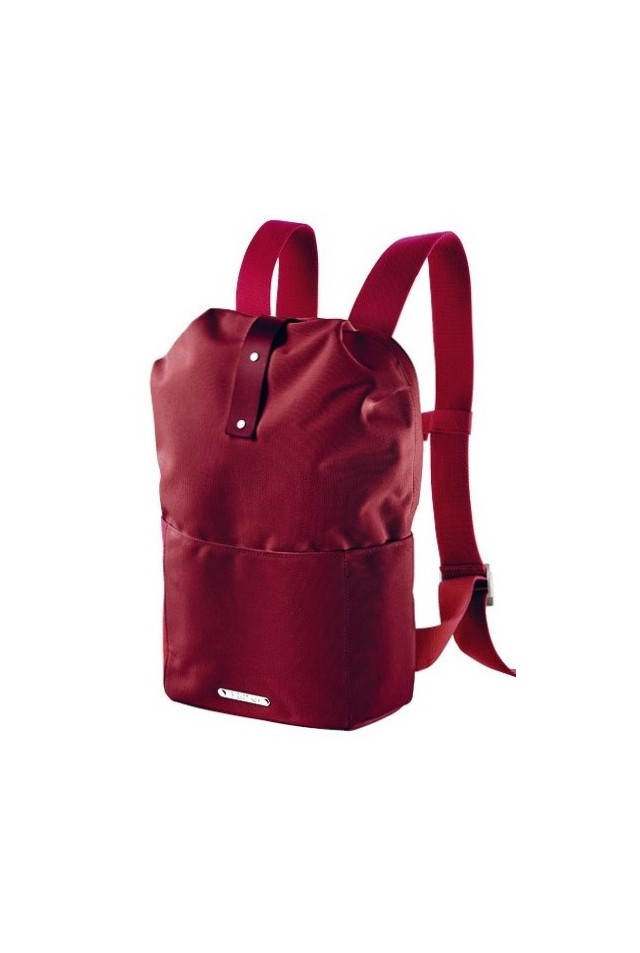 BROOKS ENGLAND DALSTON UTILITY KNAPSACK SMALL RED FLECK