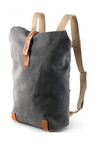 ΤΣΑΝΤΑ ΠΛΑΤΗΣ BROOKS ENGLAND PICKWICK BACKPACK SMALL GREY
