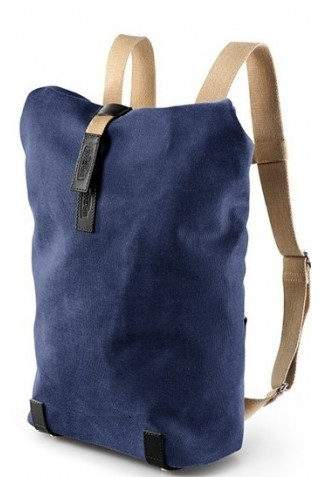 ΣΑΚΙΔΙΟ ΠΛΑΤΗΣ BROOKS ENGLAND PICKWICK BACKPACK SMALL DARK BLUE