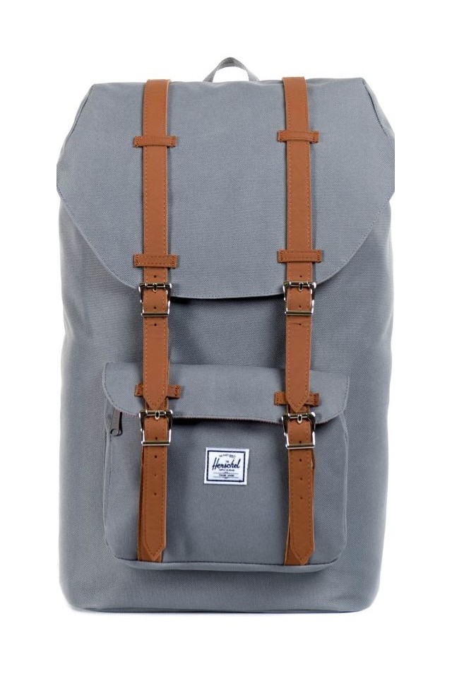 af61f09954e HERSCHEL LITTLE AMERICA BACKPACK 10014-00006 GREY - Everyday Carry