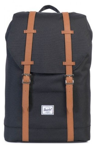 ΣΑΚΙΔΙΟ ΠΛΑΤΗΣ HERSCHEL RETREAT MID CL BACKPACK BLACK