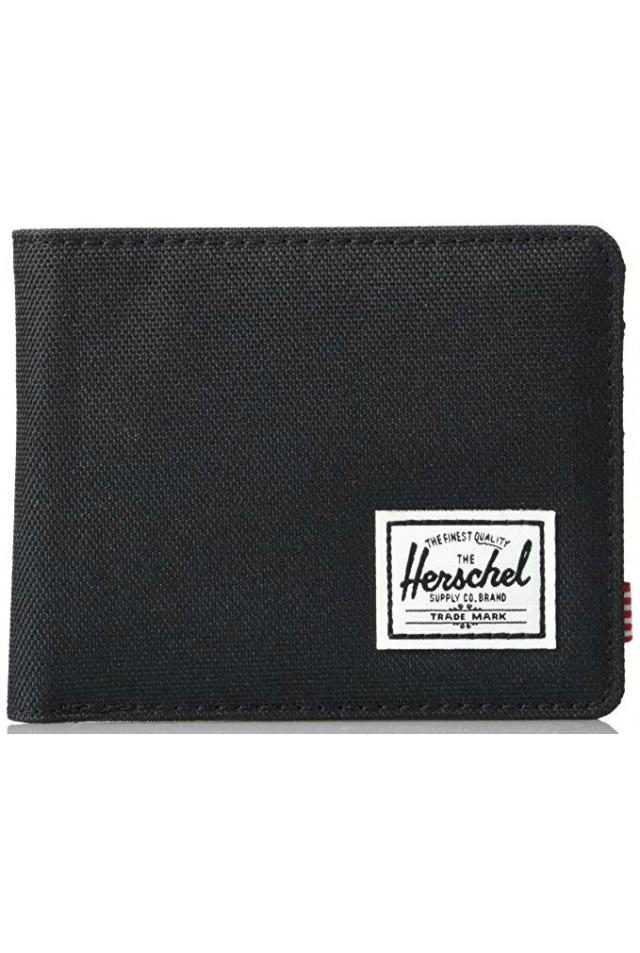 HERSCHEL 10363-02090 ROY RFID BLACK CROSSHARTCH