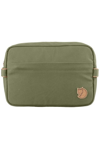 FJALLRAVEN 25513-620 TRAVEL TOILETRY BAG GREEN