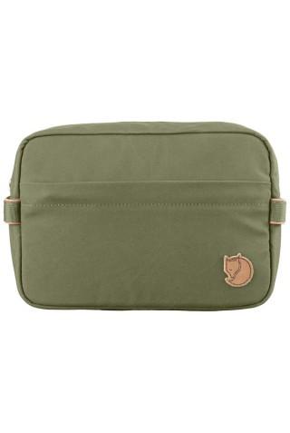 FJALLRAVEN 25513-620 TRAVEL TOILETRY BAG GREEN