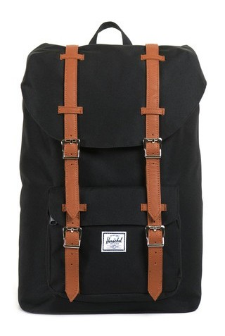 HERSCHEL LITTLE AMERICA BACKPACK MID  BLK