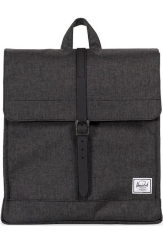 HERSCHEL 10486-02093-OS CITY PACKPACK BLACK CROSSHARCH