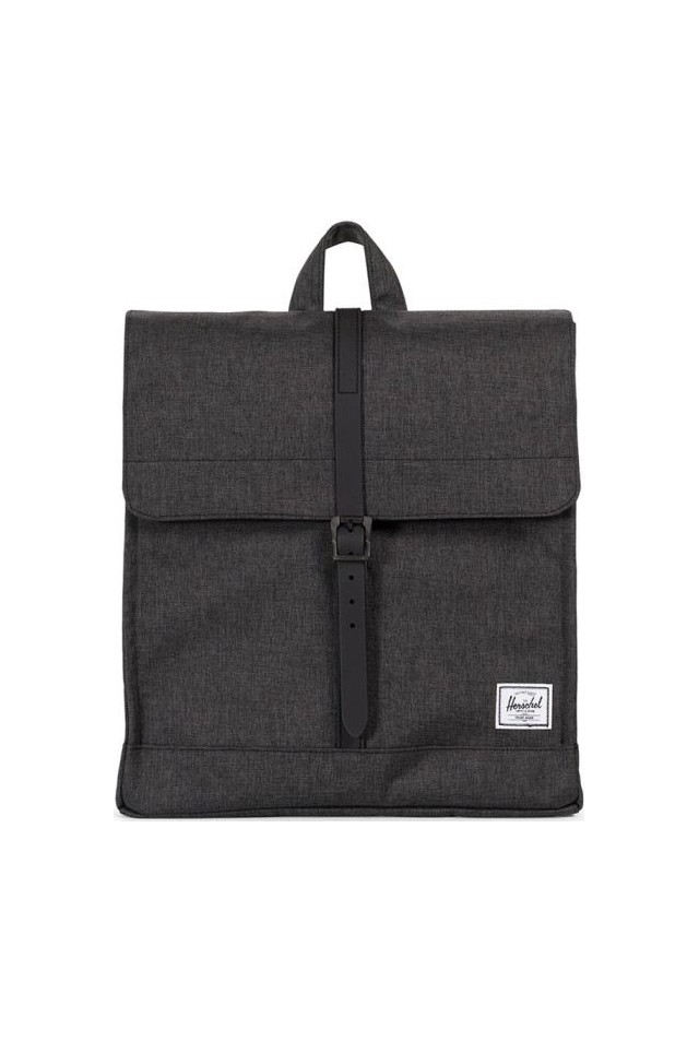 HERSCHEL 10486-02093 CITY PACKPACK BLACK CROSSHARCH