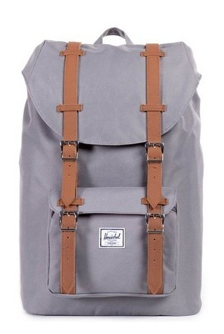 ΣΑΚΙΔΙΟ ΠΛΑΤΗΣ HERSCHEL 10020-00006 LITTLE AMERICA BACKPACK MID GREY