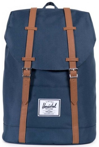 ΣΑΚΙΔΙΟ ΠΛΑΤΗΣ HERSCHEL RETREAT BACKPACK 10066-00007 NAVY