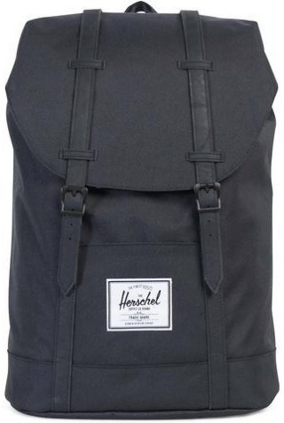 ΣΑΚΙΔΙΟ ΠΛΑΤΗΣ HERSCHEL 10066-00535 RETREAT BACKPACK BLACK/BLK