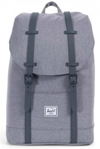 HERSCHEL 10329-02137 RETREAT MID MID GREY CROSSHATCH