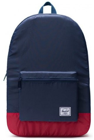 HERSCHEL 10614-01410 PACKABLE DAYPACK NAVY/RED