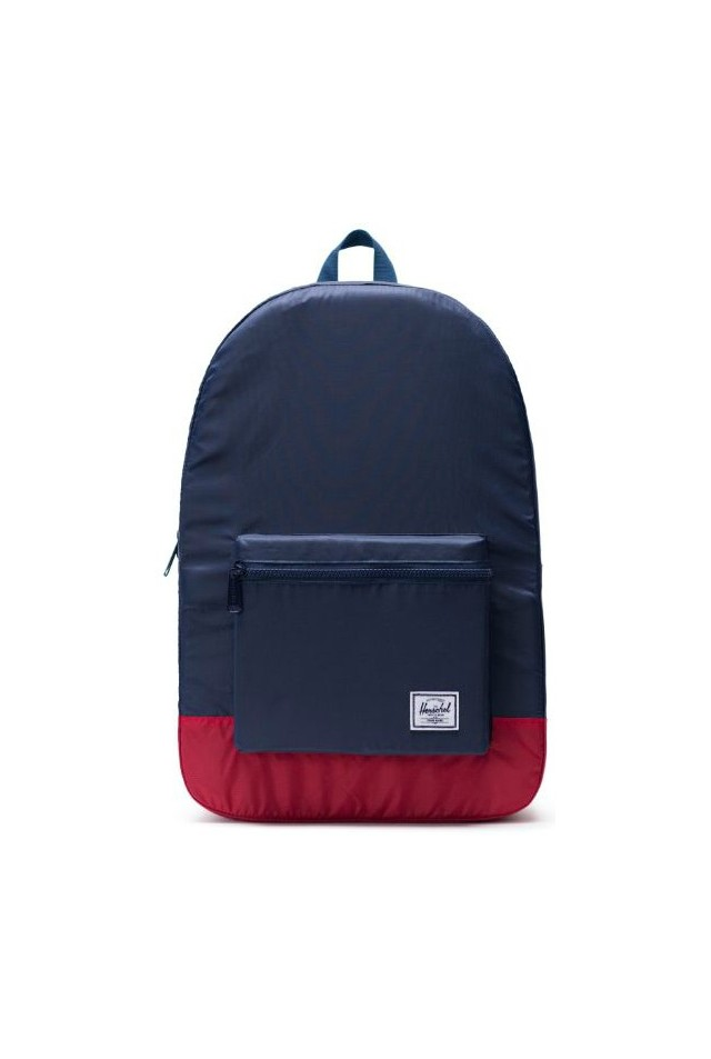 ΣΑΚΙΔΙΟ ΠΛΑΤΗΣ HERSCHEL 10614-01410 PACKABLE DAYPACK NAVY/RED