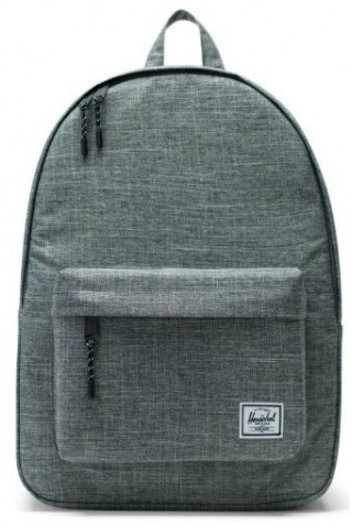 HERSCHEL 10500-00919 CLASSIC BACKPACK RAVEN CROSSHATCH