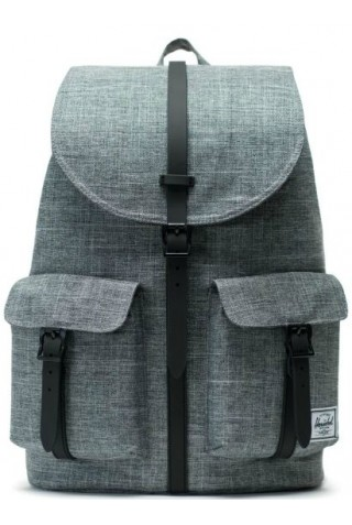 HERSCHEL 6681063-1063 DAWSON BACKPACK CLASSICS Raven Crosshatch/Black Rubber