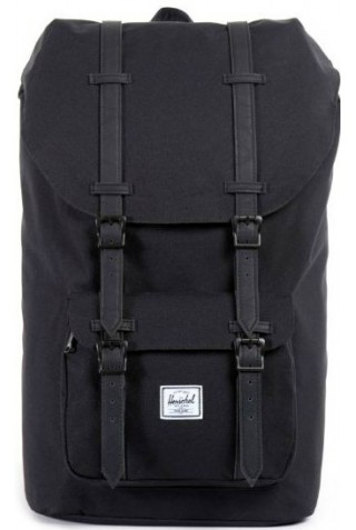 ΣΑΚΙΔΙΟ ΠΛΑΤΗΣ HERSCHEL 10014-00535 LITTLE AMERICA BACKPACK BLACK/BLA