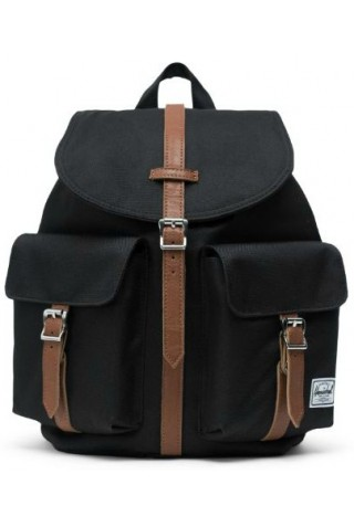 ΣΑΚΔΙΟ ΠΛΑΤΗΣ HERSCHEL 10301-00001 DAWSON X-SMALL BACKPACK BLACK/TAN