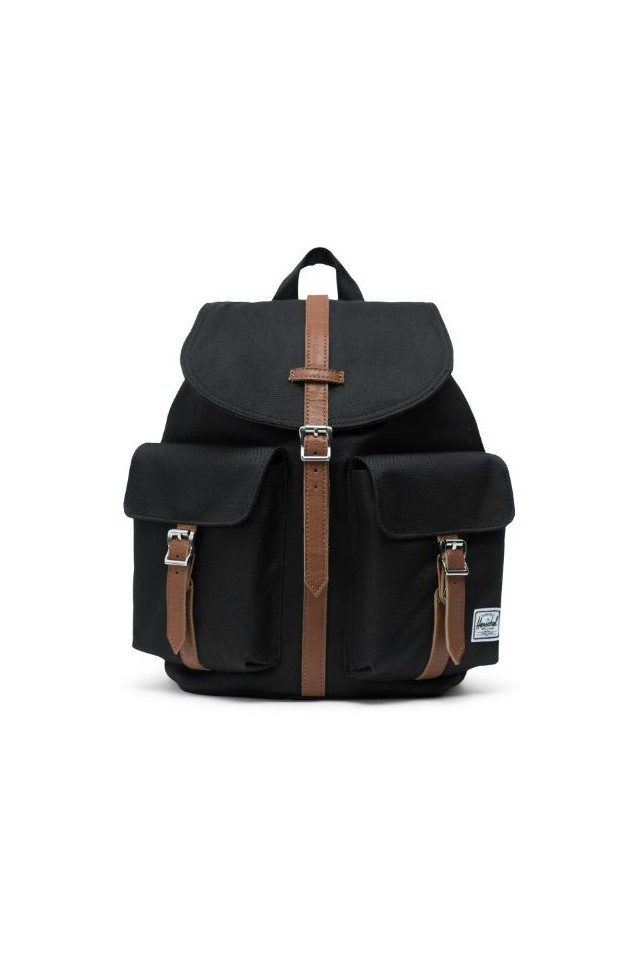 HERSCHEL 10301-00001 DAWSON X-SMALL BACKPACK BLACK/TAN