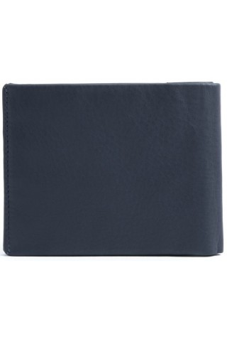 NAVA SM410AB SMOOTH WALLET, 8 CREDIT CARD SLOTS ASTRAL BLUE
