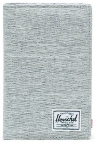 HERSCHEL 10399-02041 SEARCH WALLET RFID LIGHT GREY CROSSHATCH