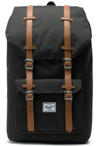 HERSCHEL LITTLE AMERICA BACKPACK 10014-00001 BLACK