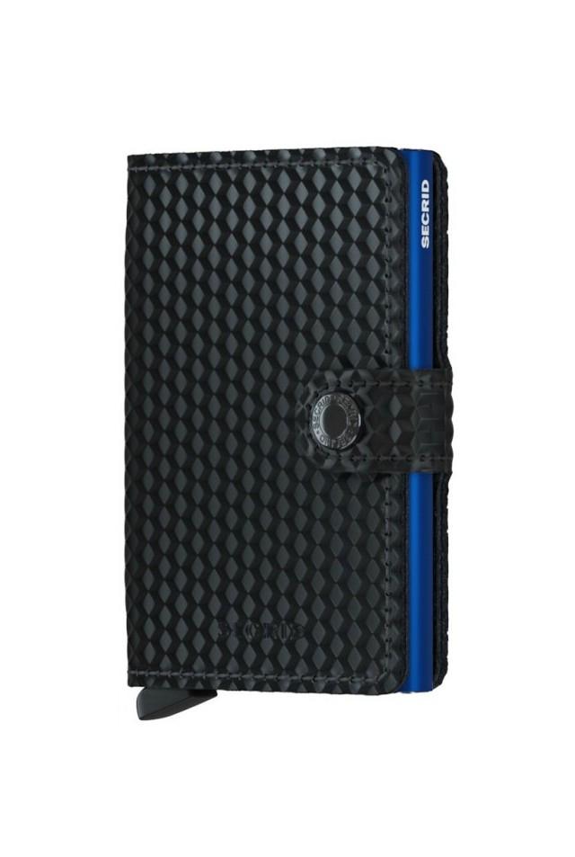 57281e54e6 ΜΙΝΙ ΠΟΡΤΟΦΟΛΙ SECRID MINIWALLET CUBIC BLACK-BLUE