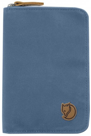 FJALLRAVEN 24220-519 PASSPORT WALLET BLUE RIDGE
