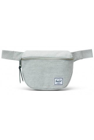 HERSCHEL 10215-01866 FIFTEEN HIP PACK LIGHT GREY CROSSHATCH