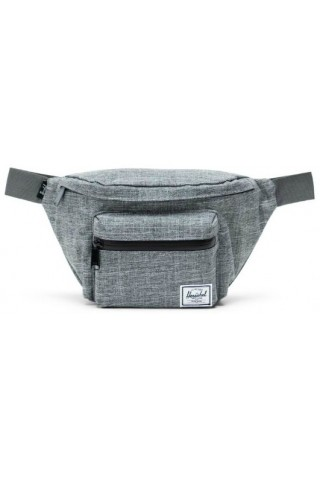ΤΣΑΝΤΑΚΙ ΜΕΣΗΣ HERSCHEL 10017-00919 SEVENTEEN HIP PACK RAVEN CROSSHATCH