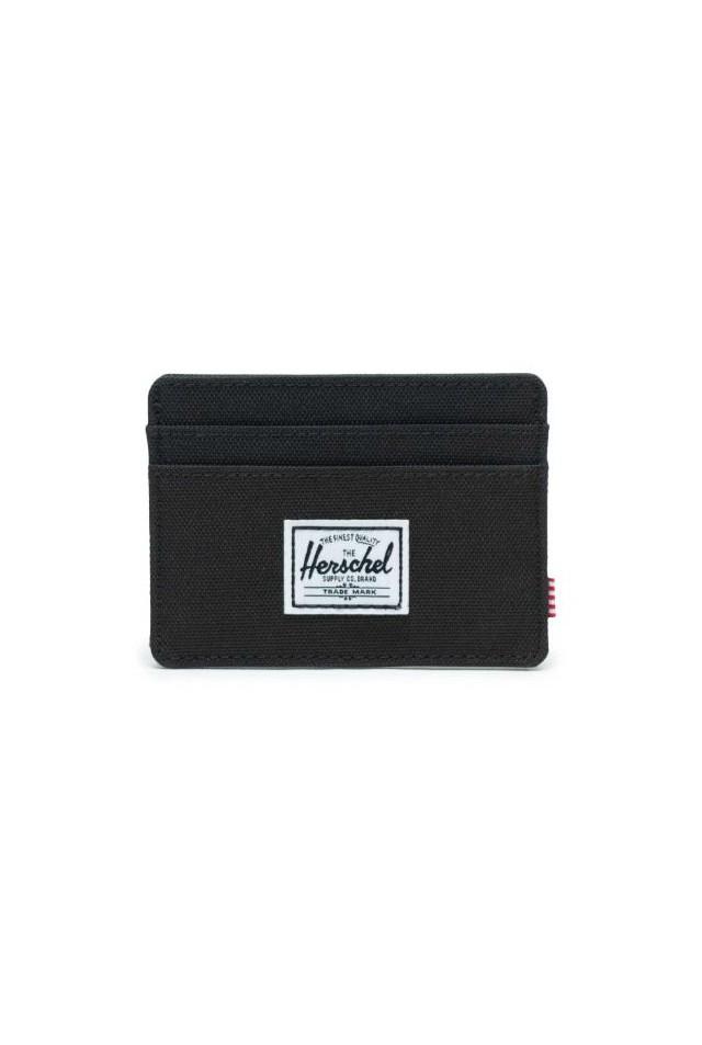 HERSCHEL 10360-00001 CHARLIE RFID WALLET BLACK