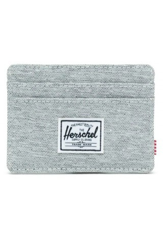 HERSCHEL 10360-02041 CHARLIE RFID WALLET LIGHT GREY CROSSHATCH