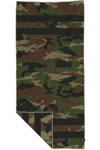 SLOWTIDE ST199 REGIME TRAVEL TOWEL ARMY 152X76
