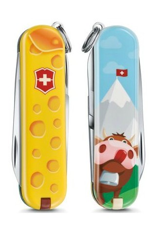 ΣΟΥΓΙΑΣ VICTORINOX NO 0.6223.L1902 CLASSIC LE19 ALPS CHEESE