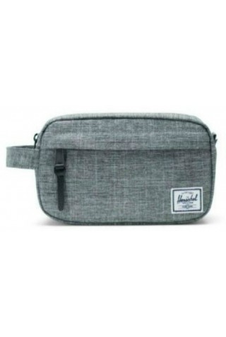 HERSCHEL 10347-00919 CHAPTER CARRY ON CASE RAVEN CROSSHATCH