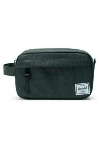 HERSCHEL 10347-02090 CHAPTER CARRY ON CASE BLACK CROSSHATCH