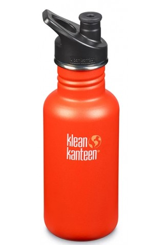ΑΝΟΚΕΙΔΩΤΟ ΠΑΓΟΥΡΙ KLEAN KANTEEN CLASSIC SPORT CAP 532ml BRUSHED STAINLESS
