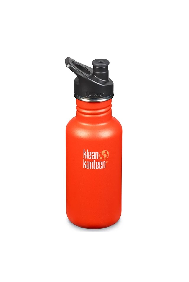 KLEAN KANTEEN  CLASSIC SPORT CAP 532ml BRUSHED STAINLESS