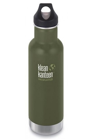 ΘΕΜΡΟΣ KLEAN KANTEEN CLASSIC INSULATED 592ml SHALE BLACK
