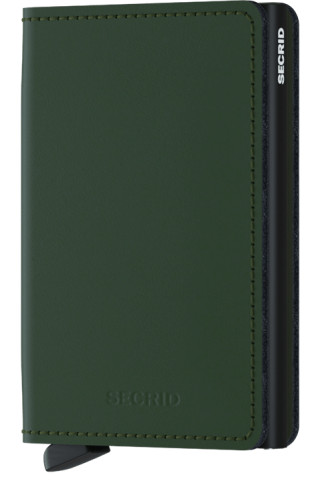 SECRID SM-GREEN SLIMWALLET MATTE GREEN