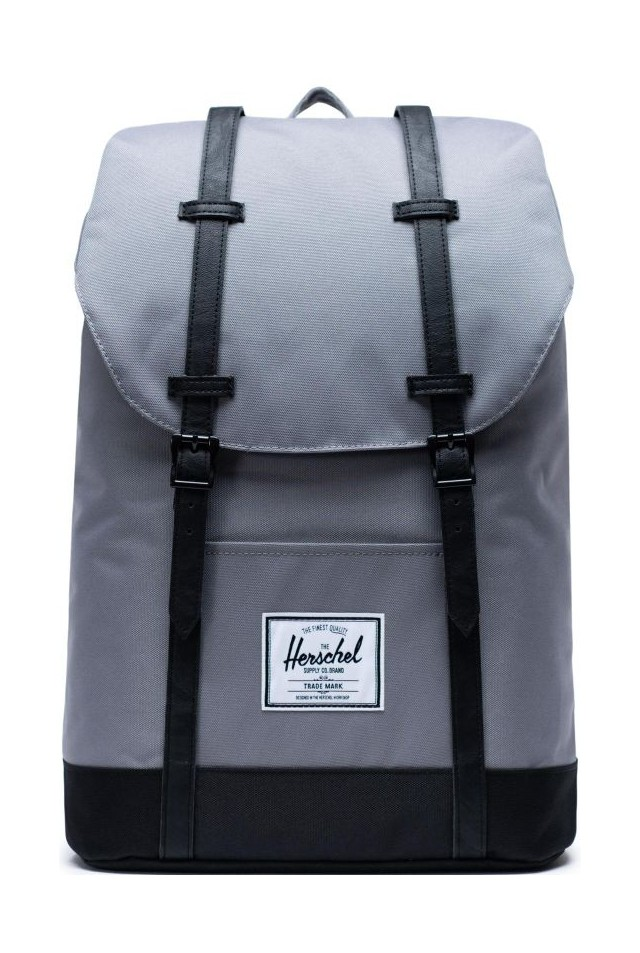 HERSCHEL 10066-02998-OS RETREAT BACKPACK Grey/Black