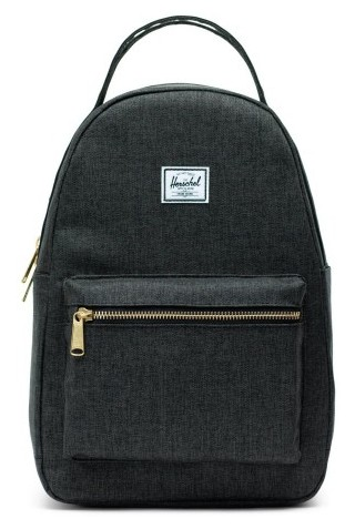 ΣΑΚΙΔΙΟ ΠΛΑΤΗΣ HERSCHEL 10502-02090-OS NOVA SMALL BACKPACK Black crosshatch