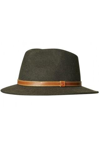 ΜΑΛΛΙΝΟ ΚΑΠΕΛΟ FJALLRAVEN 77341-633 SORMLAND FELT CAP DARK OLIVE