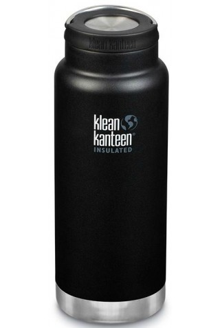 KLEAN KANTEEN INSULATED TKWIDE SHALE BLACK 946ML