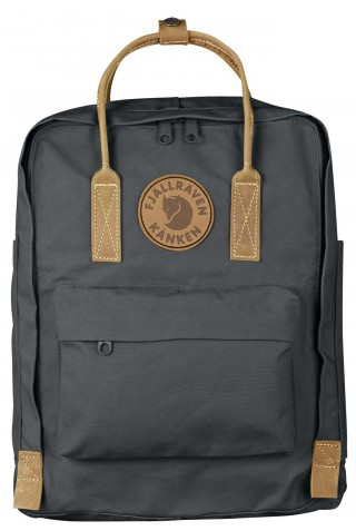 ΣΑΚΙΔΙΟ ΠΛΑΤΗΣ FJALLRAVEN 23565-046 KANKEN NO.2 BACKPACK SUPER GREY 16L