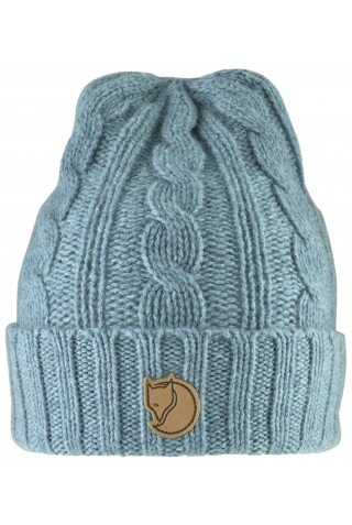 FJALLRAVEN 77377-664 BRAIDED KNIT HAT FROST GREEN